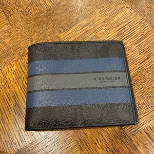 Men's Coach wallet.